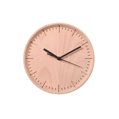 Meter: Wall Clock (Beech) by Pana Objects