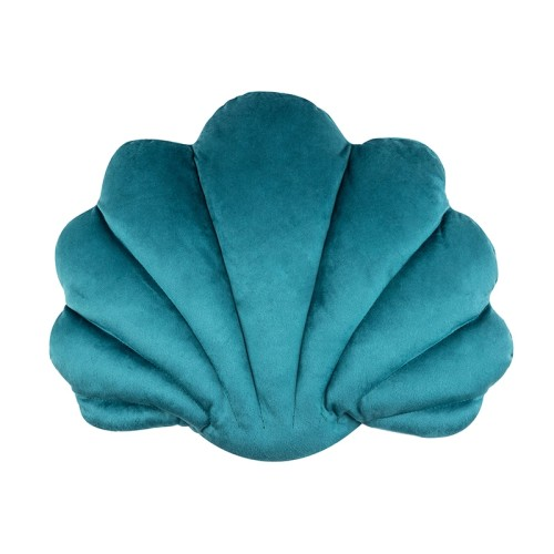 Avis Scallop Cushion (Teal)