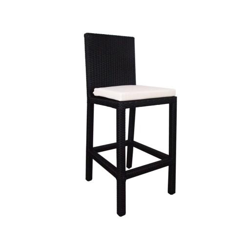 Midas Bar Chair White