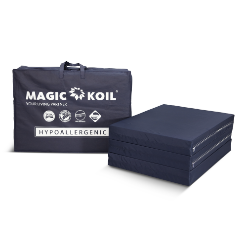 Magic Koil 3 Fold Foam Mattress