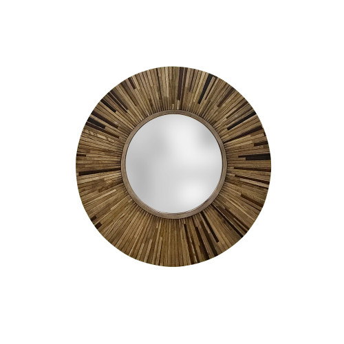 Philos - Pleat Round Large Mirror (MR1701-D90)