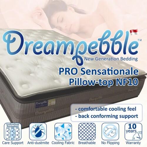 Dreampebble Pro Sensational NF10 Pillow-top Mattress