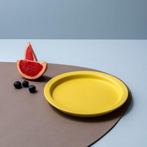 Rica Dessert Plate (Pale Yellow)