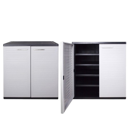 Optimus Low Cabinet Grey