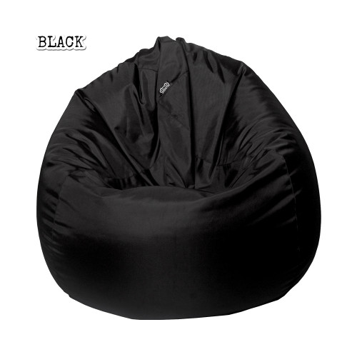 Plop BeanBag Jet Black By doob
