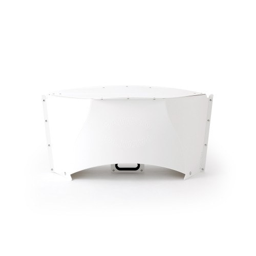 Patatto Table - Portable Compact Table (White) by Solcion