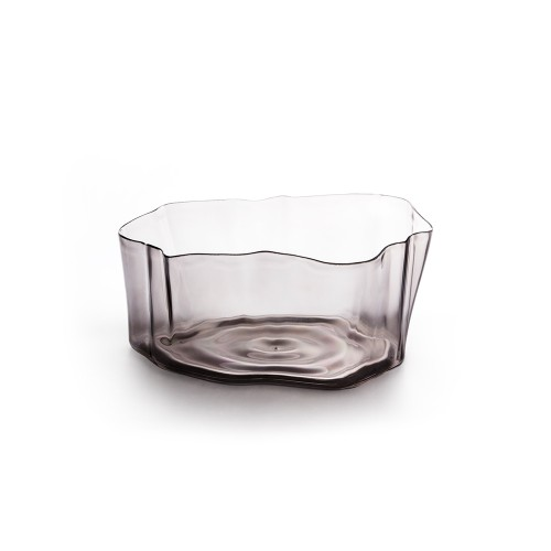 Crystal Flow Bowl (Black) by Qualy