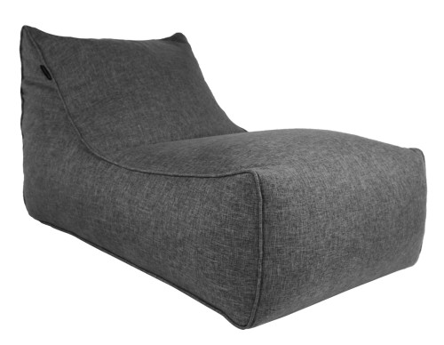Ritchie Bean Bag Sofa in Grey