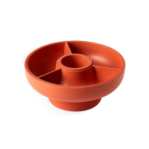 Hoop - Serving Bowl (Paprika) by OMMO