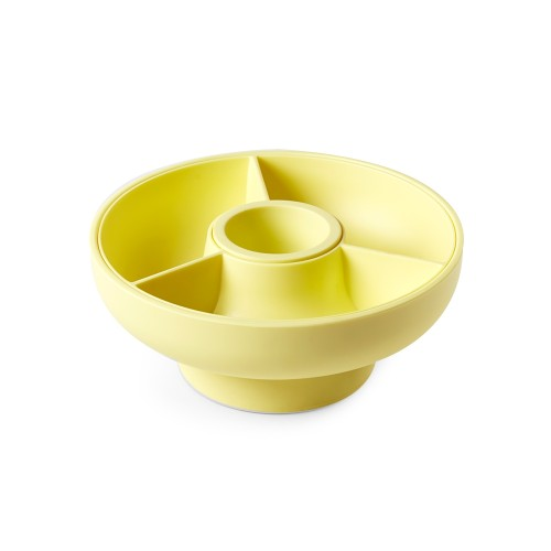 Hoop - Serving Bowl (Pale Yellow) by OMMO