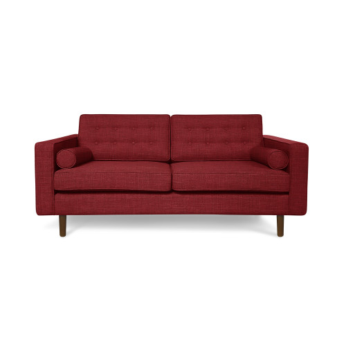 Tatler 2 seater sofa red furniture home d cor fortytwo for Small sofa singapore