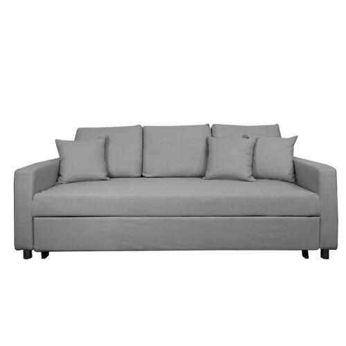 Vernon Sofa Bed, Ash (3 Seater)
