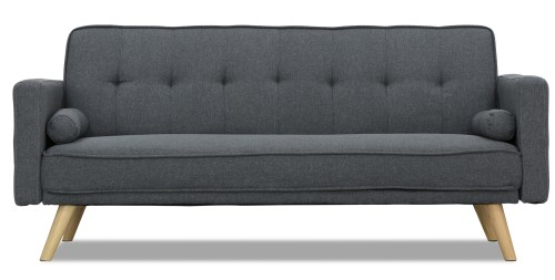 Rhona Sofa Bed (Stone Grey)