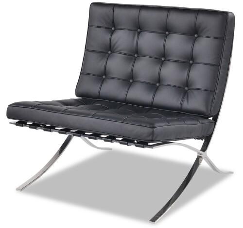 Barcelona Chair in Black PU
