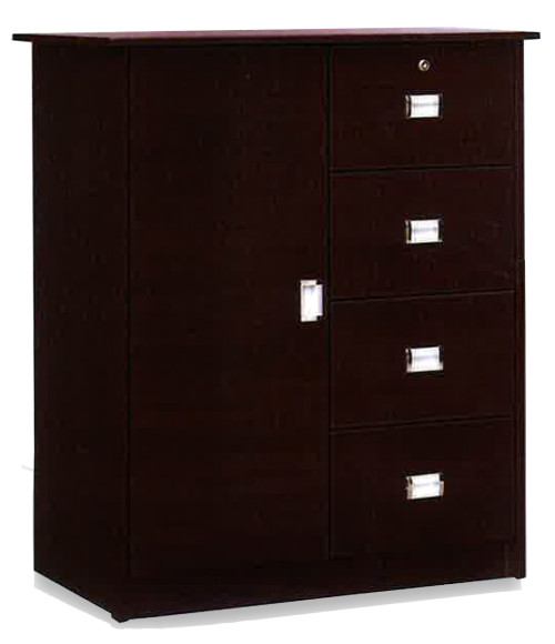 Juno Chest of Drawers in Walnut