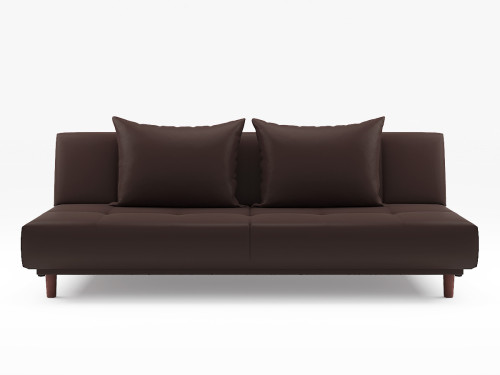Sweden Sofa Bed Pvc Brown Furniture Home D Cor Fortytwo