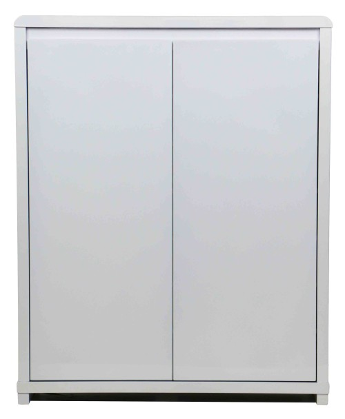 Prudence 2 Doors Shoe Cabinet White