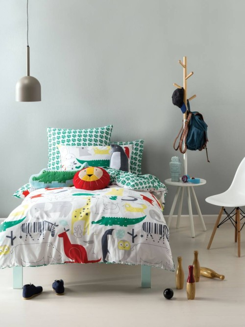 Australia Hiccups Kids Bed Set - Managerie (Super Single)