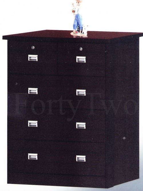 Chest of Drawers DR58  Walnut