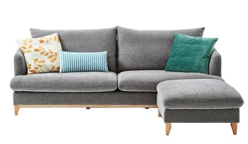 Jordyn 3 Seater Sofa + Ottoman