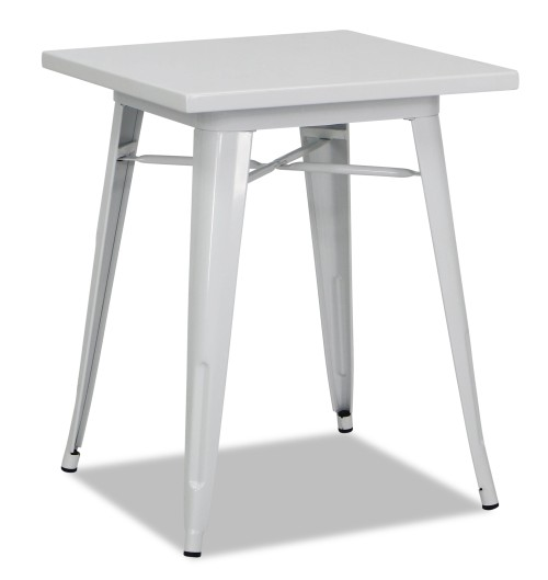 Tolia Metal Bistro Table in White