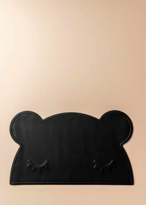 Laney Silicone Bear Placemat (Black)