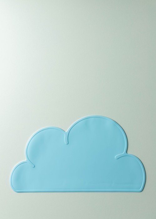 Mika Silicone Cloud Placemat (Sky Blue)