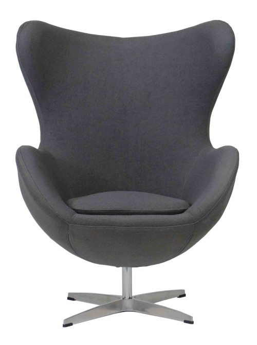 Egg Replica Chair (Charcoal)