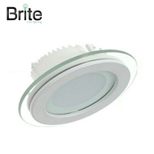 BRITE LED 3 Colour Settings Round Glass Down/Panel Light 12W