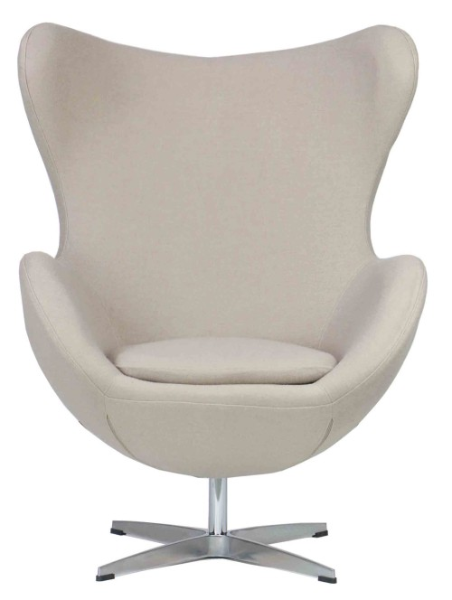 Designer replica egg chair in cream furniture home for Egg chair replica schweiz