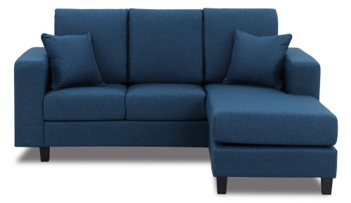 Homer Fabric L-Shaped Sofa