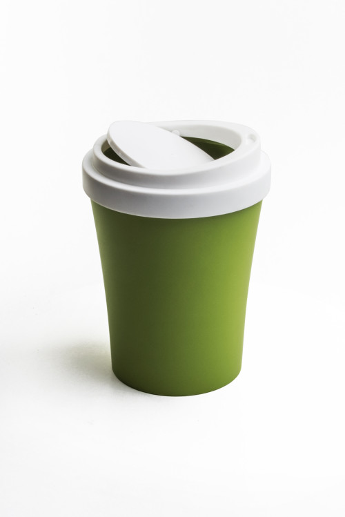 Coffee Bin (Green) By Qualy