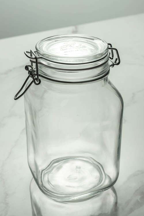 Fido Glass Jar 2000ml (Clear)