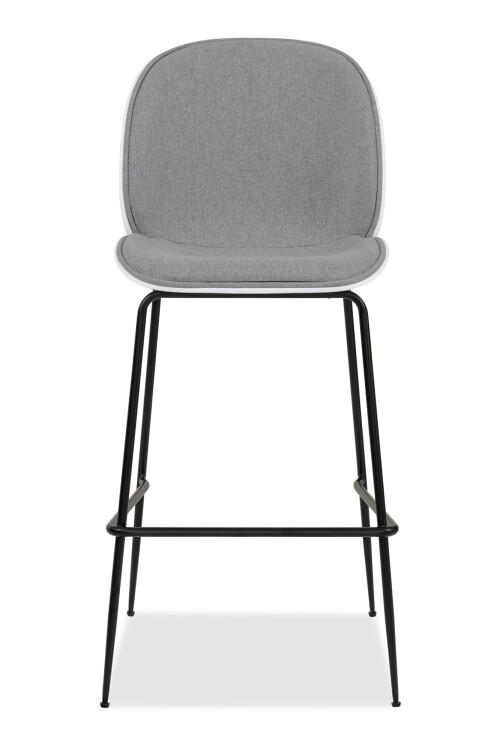 Beetle Bar Chair Replica (Fabric Grey)