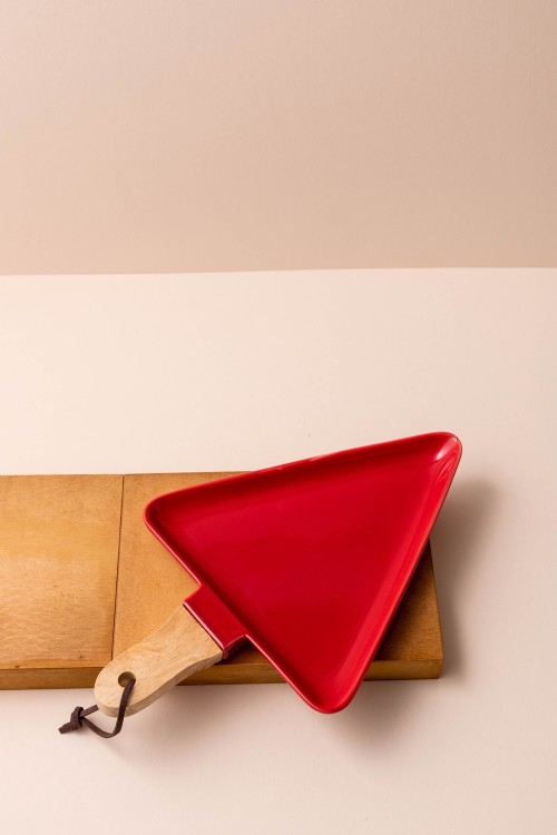 Popsicle Small Serving Platter (Red)