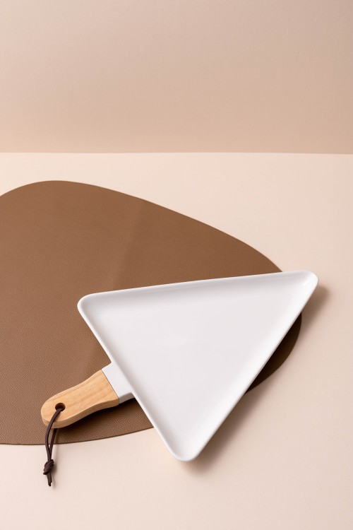 Popsicle Medium Serving Platter (White)