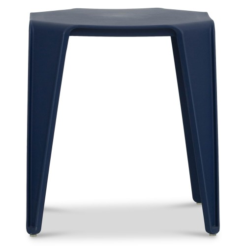 Barric Side Table in Navy