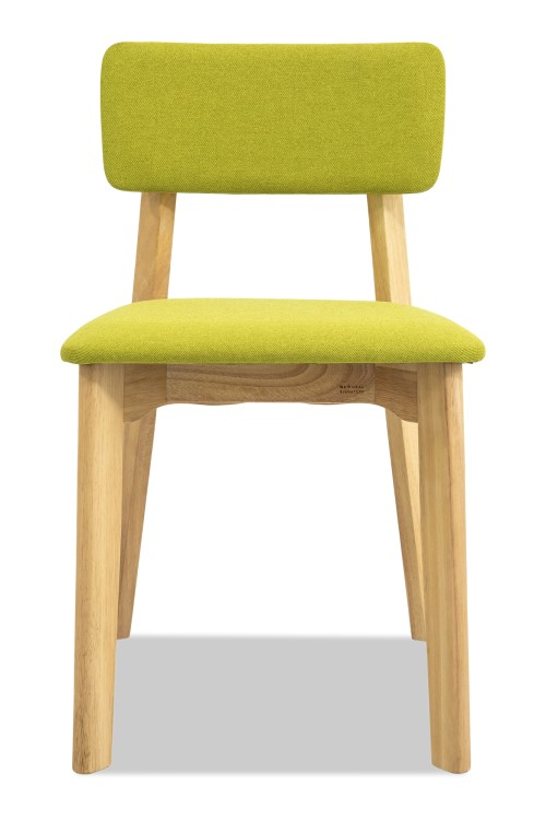 Austin Dining chair with Green cushion