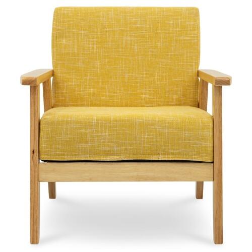 Hans 1 Seater Sofa (Yellow)