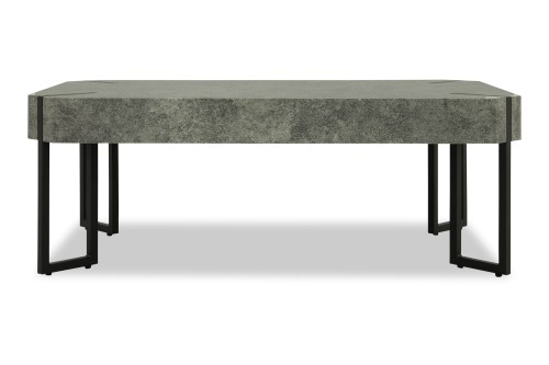 Mair Coffee Table (Dark Concrete)