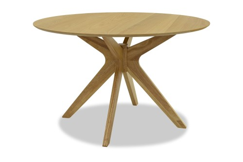 Duncan Round Dining Table Oak