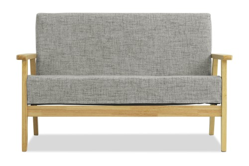 Hans 2 Seater Sofa (Granite)