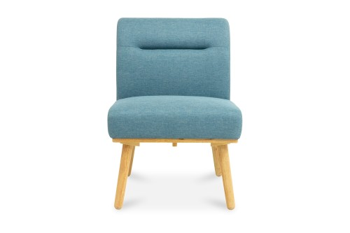 Posti 1 Seater Dining Sofa (Blue)
