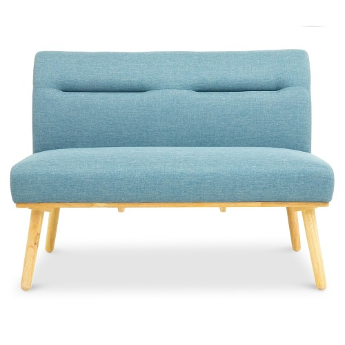 Posti 2 Seater Dining Sofa (Blue)