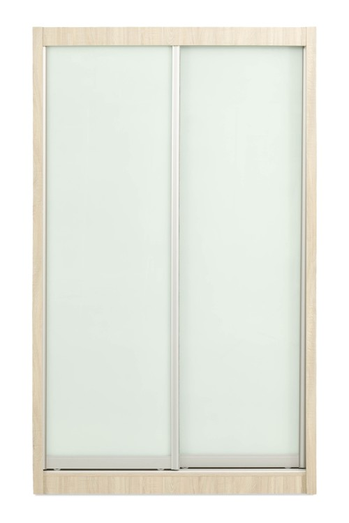 Holt 2 Door 4FT Wardrobe in White Wash