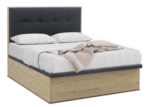 Patton Queen Size Storage Bed + Mattress Package
