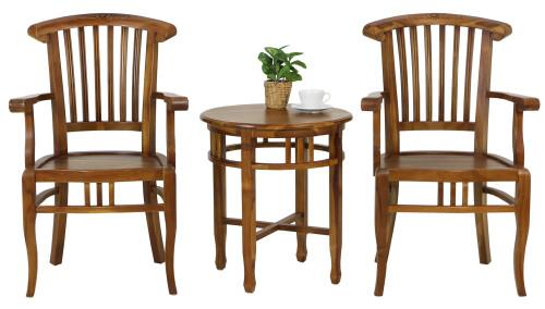 Nairobi Armchair with Bamako Coffee Table Set