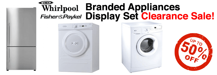 Whirlpool Display Set Clearance Sale