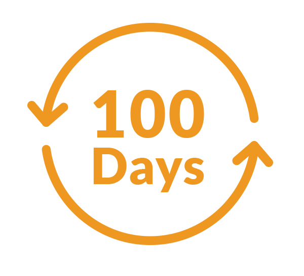 100 Day Free Returns