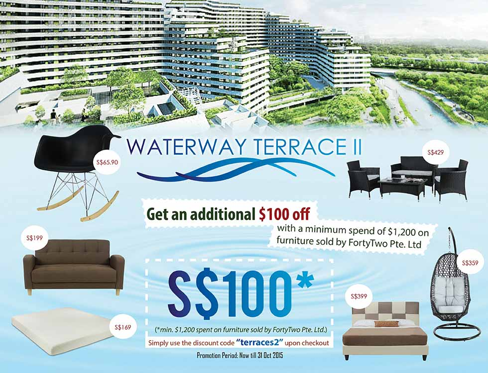 Bon Exclusive: Punggol Waterway Terraces II Furniture Promotion | Furniture U0026  Home Décor | FortyTwo